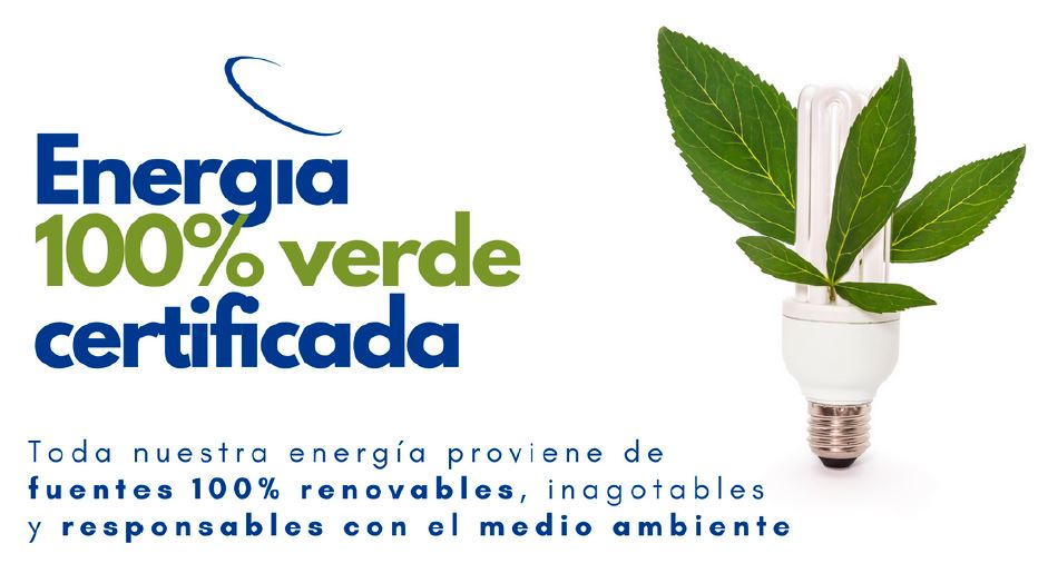 aire energía 100% verde certificada